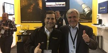 Empresa chilena DUST A SIDE  marca presencia en principal feria de minería y energía del continente africano